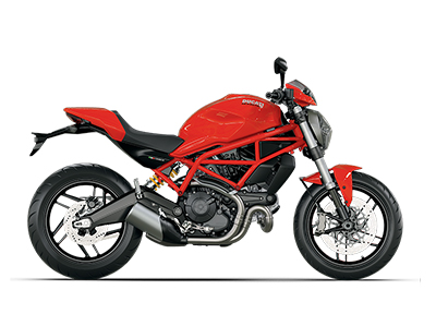 Monster 797 Plus Red
